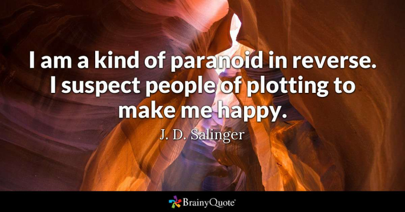 Paranoid Reverse Salinger