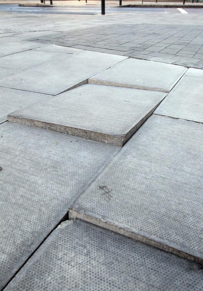 Uneven Slab Floor